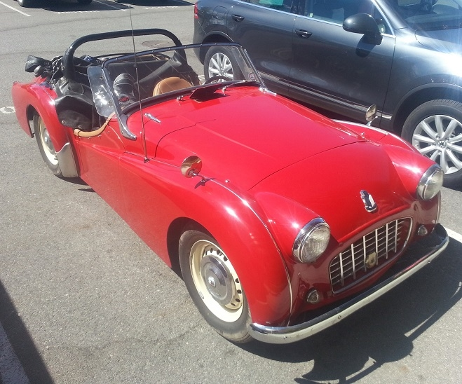 Bob Wilcox - 1957 Triumph TR3