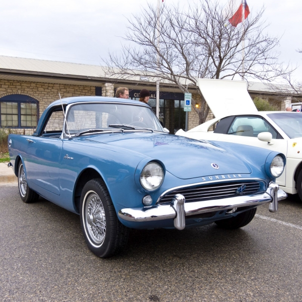 Jeff Keyzer - 1962 Sunbeam Alpine Series II