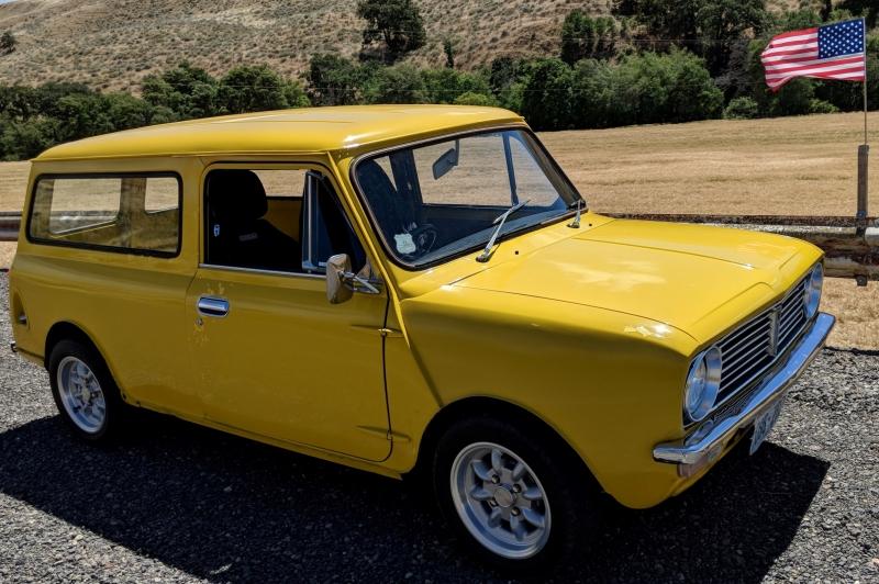 Mark Hurston - 1976 Mini Australian Clubman Van