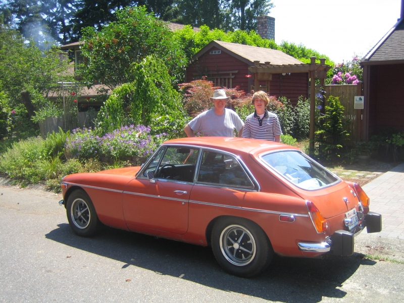 Mike Leese - 1965 MGB GT