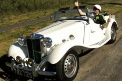 Tony McArthy - 1952 MG TD
