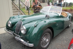Valgene Power - 1953 Jaguar XK 120
