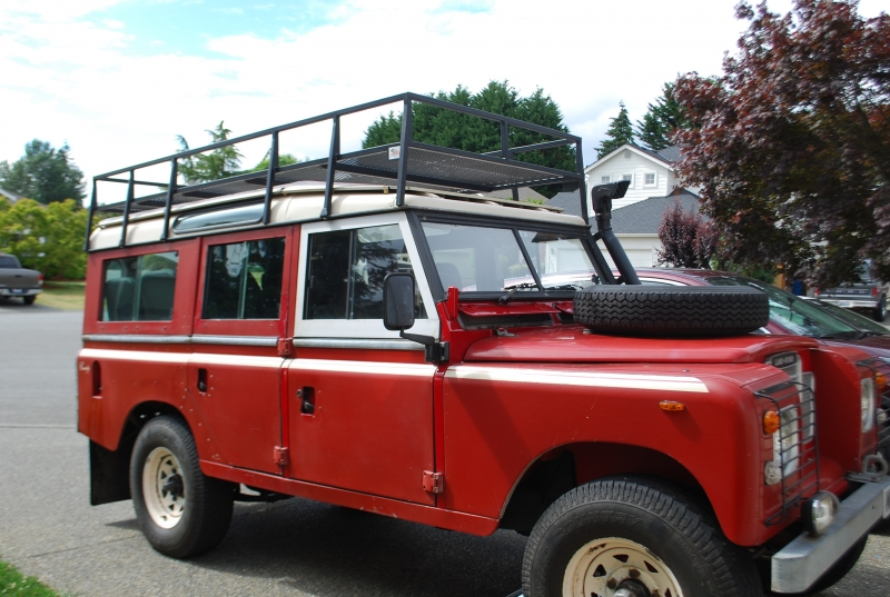 Mike Bahrami - 1983 Land Rover Series III 109 Safari Wagon