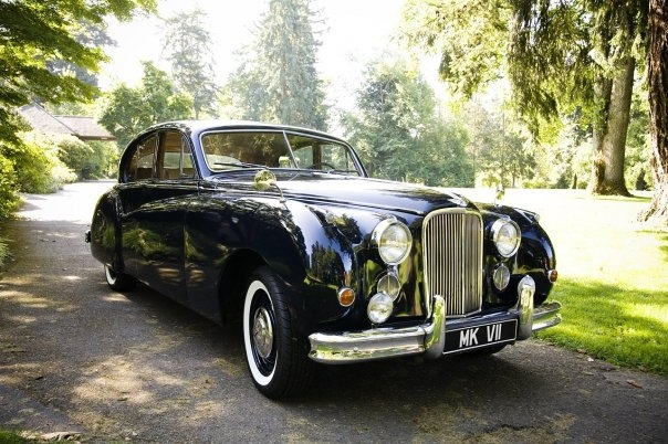 Chris Johnston - 1957 Jaguar Mk 7 M Saloon