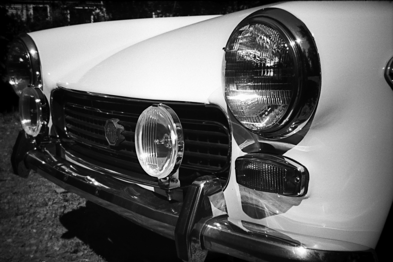 Hank Farr - 1971 MG Midget