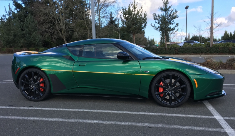 Jason Wine - 2012 Lotus Evora S