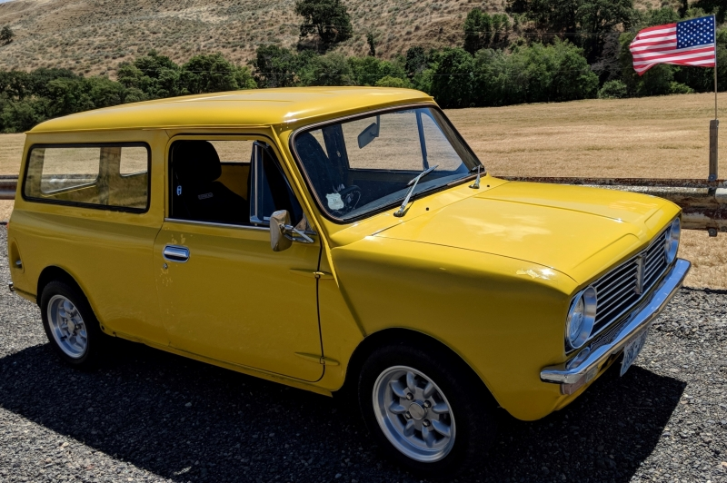 Mark Hurston - 1976 Mini Van
