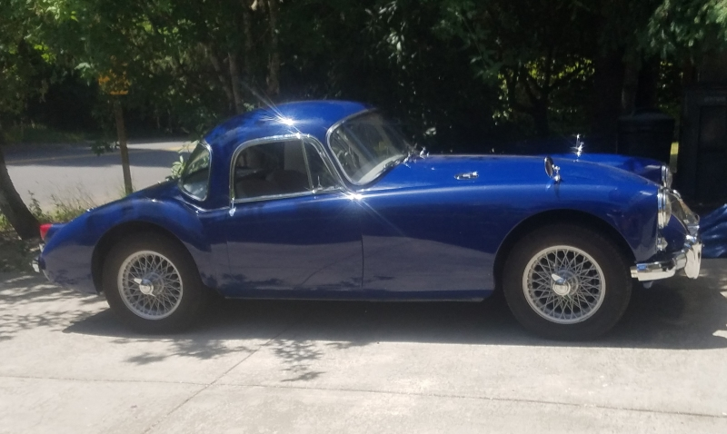 Mike Ryan - 1959 MGA Coupe