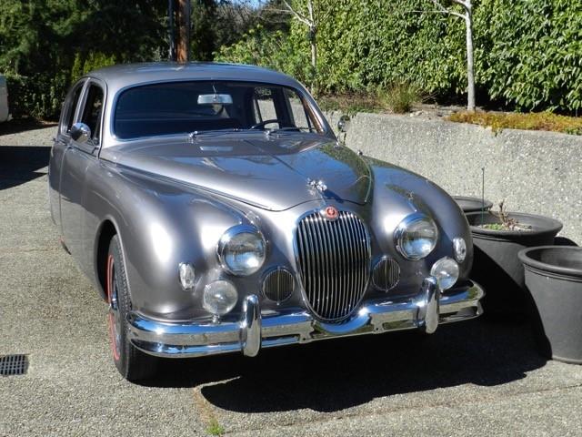 Rob Westcott - 1955 Jaguar Saloon MK1
