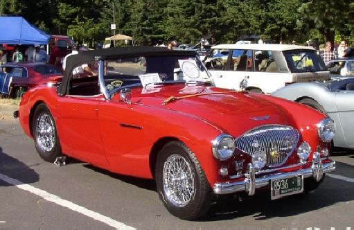 Robert Spielman - 1955 Austin-Healey 100