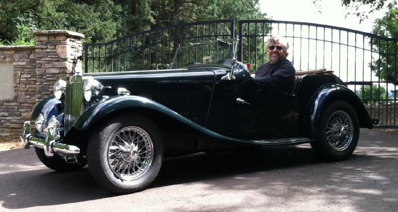 Russel Ervin - 1950 MG TD