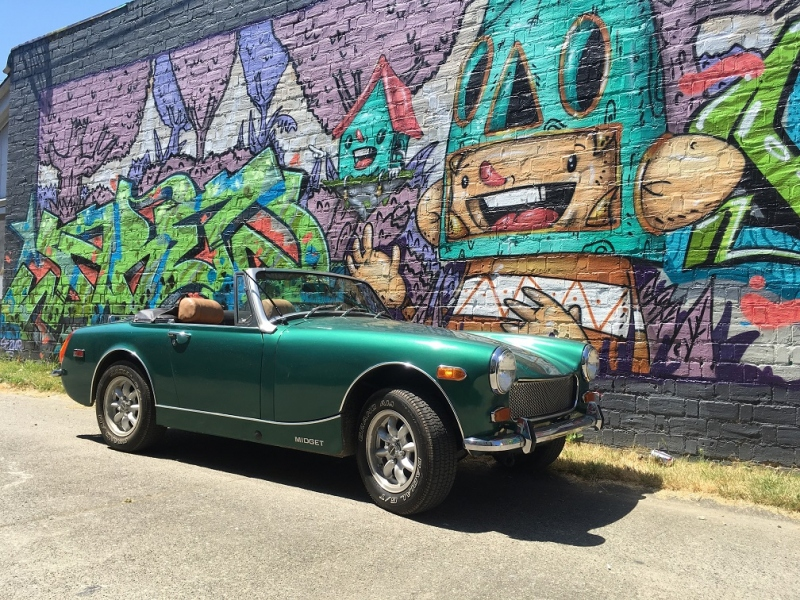Zach Zimmerman - 1973 MG Midget