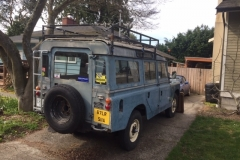 Jim Thompson - 1967 Land Rover Series IIA (LWB) NADA