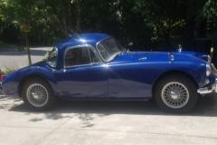 Mike Ryan - 1959 MGA Coupe