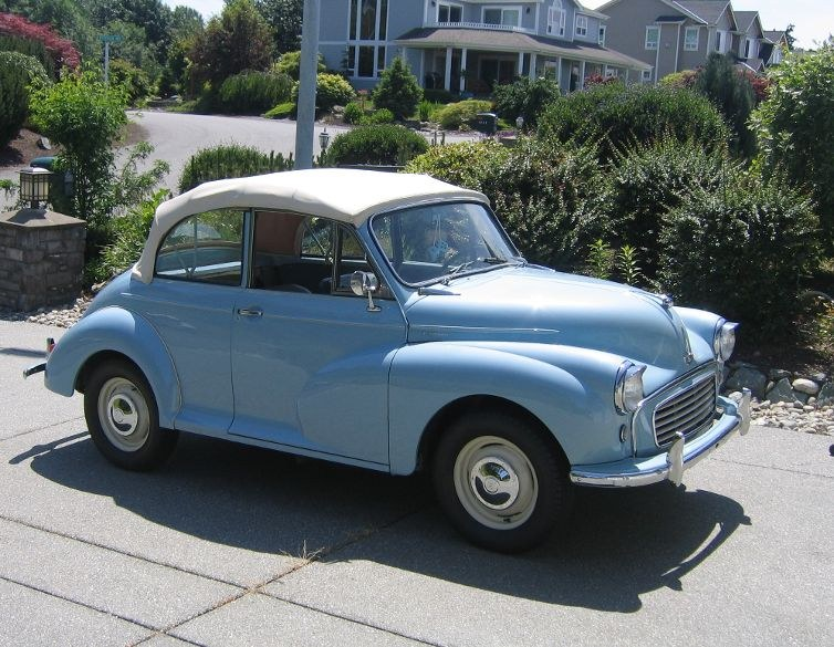 David Borg - 1961 Morris Minor Saloon