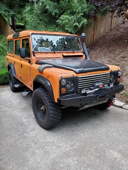 Jason Epstein - 1985 Land Rover Defender
