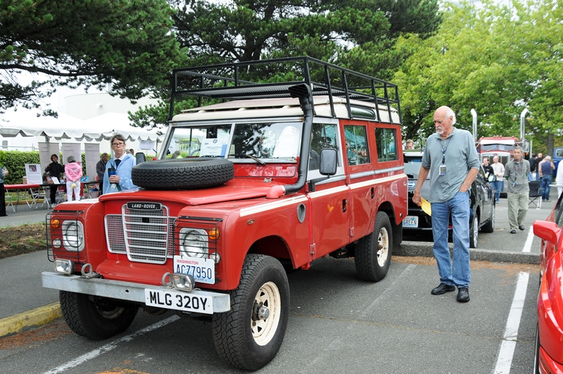Mike Bahrami - 1983 Land Rover Series III LWB