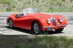 1952 Jaguar XK 120 OTS - Paul and Linda Mascuch