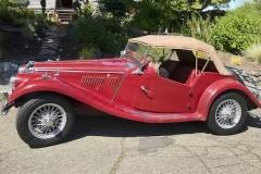 1954 MG TF - Ted Walkley