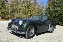 1956 Triumph TR3 - Marty Brown