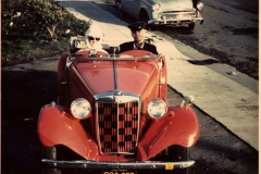 Carl Harrington - 1952 MG TD