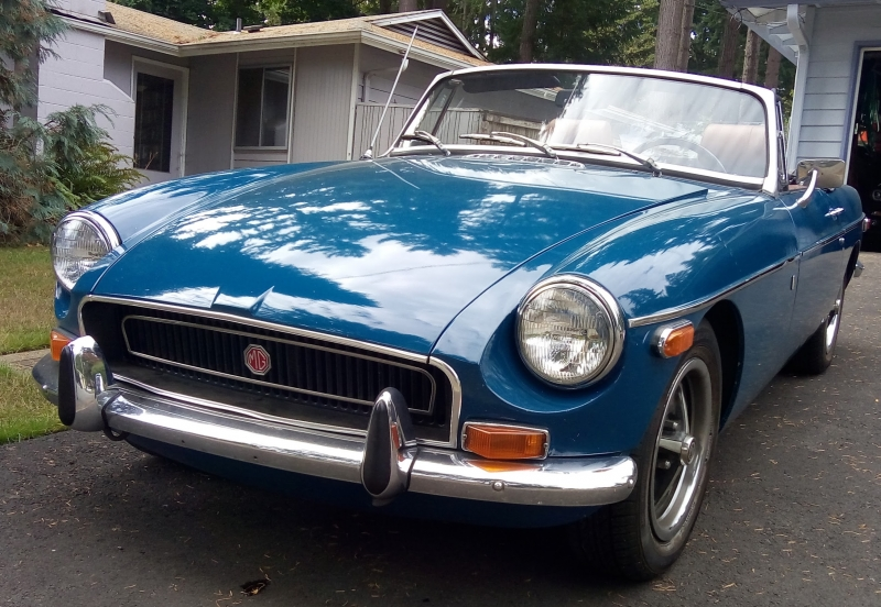 Christopher Sims - 1972 MGB