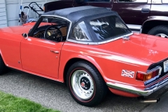 Cline Reese - 1972 Triumph TR6