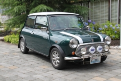 Dallas and Judy Maggitt - 1995 Mini MK VII Japanese Tartan Edition