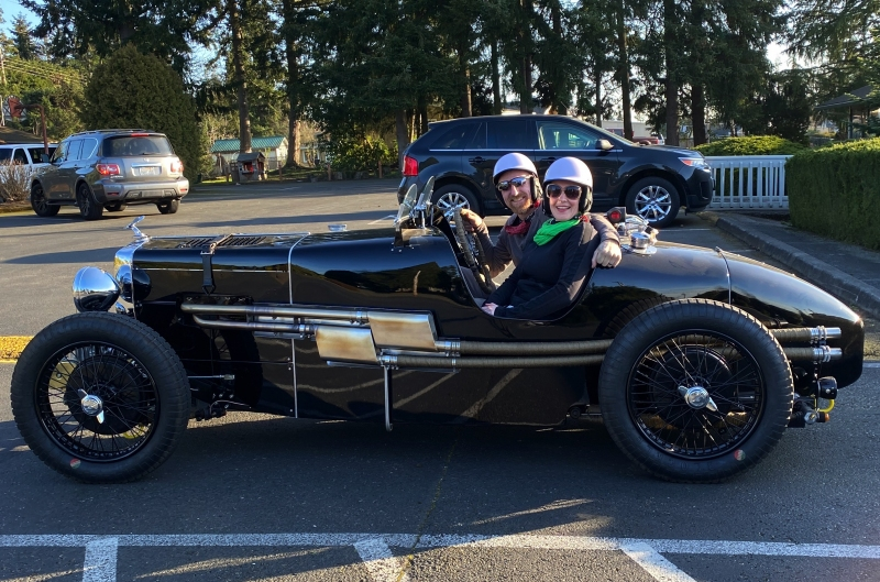 1938 MG TA Special - Craig and Katie Cootsona