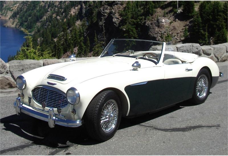 1960 Austin-Healey 3000 Mk I - Bruce and Sue Jackson
