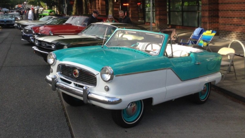 1960 Nash Metropolitan - Dave Pryde
