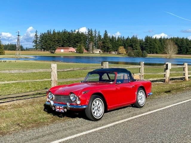 1967 Triumph TR4A - Bryant Paulsen