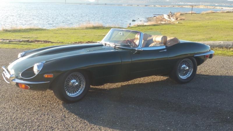 1970 Jaguar E-Type OTS - Will Humiston