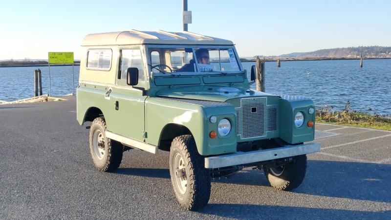 1974 Land Rover Series III SWB - Scott Stewart