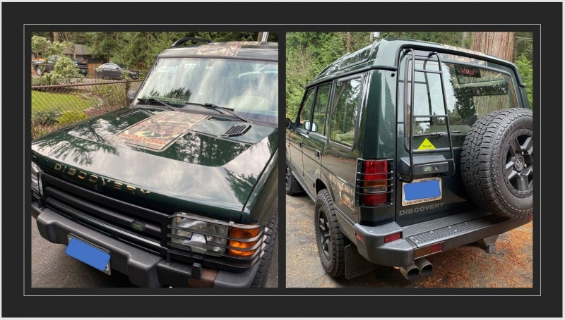 1997 Land Rover Discovery I - Parl Guthrie