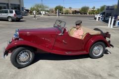 1950 MG TD - Diana and Mark Leonard
