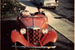 1952 MG TD - Carl and Susan Harrington