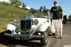 1952 MG TD - Tony McArthy