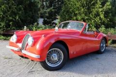1954 Jaguar XK 120 SE - Ben Brown