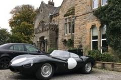 1956 Jaguar Racing - Art Foley