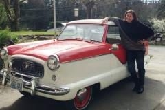 1957 Nash Metropolitan Series III - Pamela Bowe