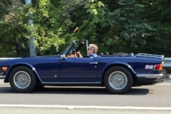 1973 Triumph TR6 - Mary Hogan