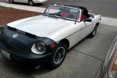 1979 MGB - Norman and Kathy Wright