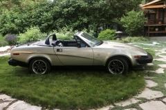 1980 Triumph TR8 - Rod Nichols