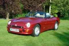 1995 MG RV8 - David Sell