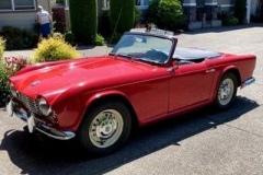 1964 Triumph TR4 - Ron Larson